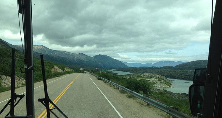 Alaska nach Kanada
