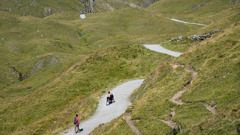 Reisetipps Höhenwanderung Grindelwald