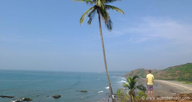 vagator-beach-ausblick