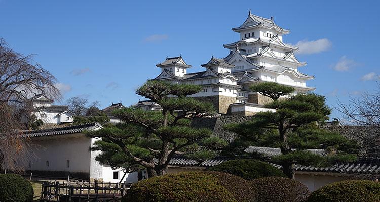 Himeji in Japan