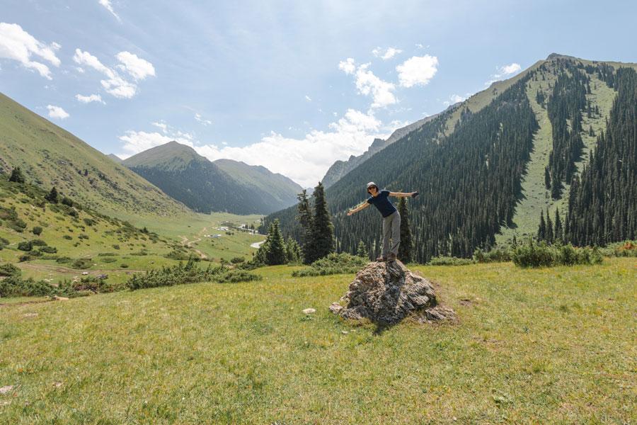 Reisetipps Kirgisistan - Altyn Arashan