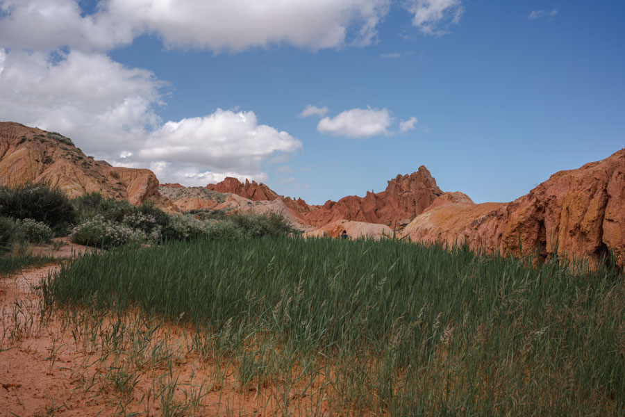Reisetipps Kirgisistan - Fairy Tale Canyon