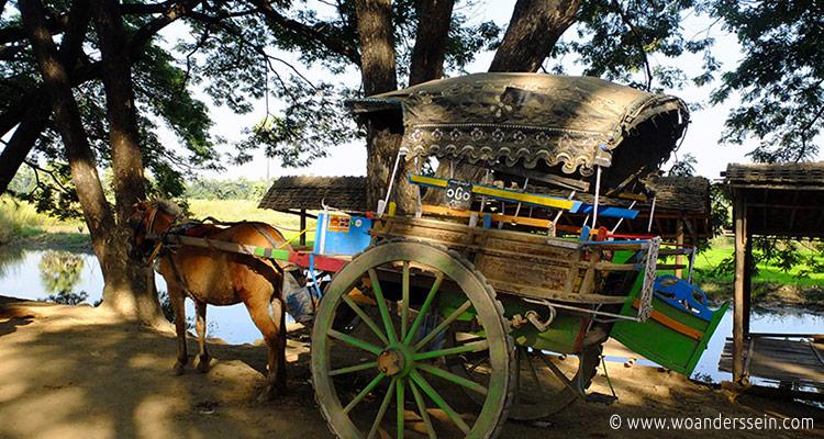 mandalay-tour-bagaya-kyaung-horsecar