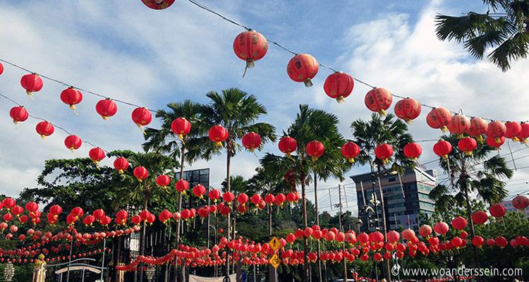 Chinesisches Neujahr in Kota Kinabalu | Reiseblog woanderssein