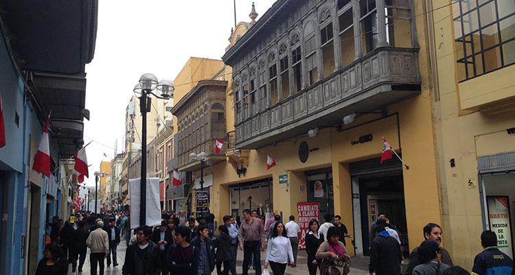Unterwegs in Lima