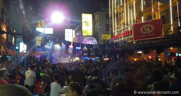 Reisetipps Bangkok - Songkran Neujahrsfest
