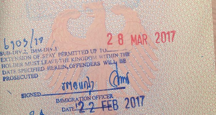 Reisetipps Thailand - Visum Verlängern in Bangkok