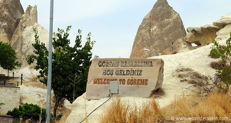 goreme-welcome