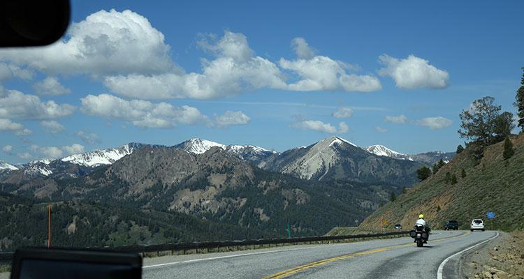 Unterwegs im Boise National Forest
