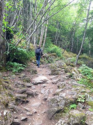 Hiken in Skagway - Alaska