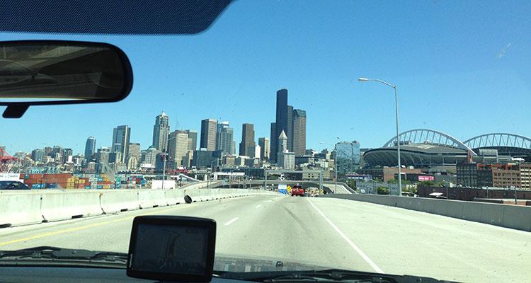 Unterwegs in Seattle