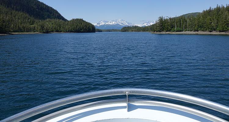Bootstour in Alaska