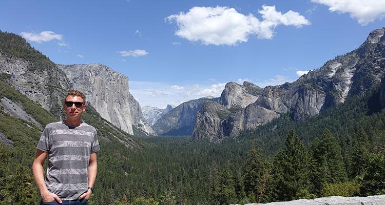 Unterwegs im Yosemite Nationalpark